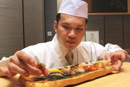 Singapore-based sushi chef is second in global contest