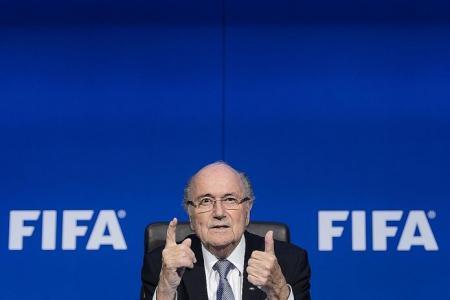 Blatter claims innocence
