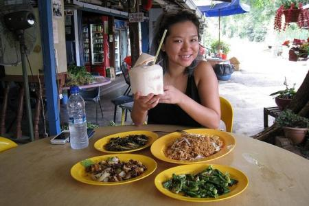 Island girl Inch Chua on why she doesn't often eat meat