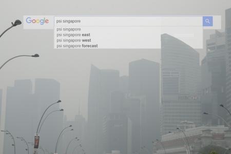 Haze was Singaporeans' top Google search term for 2015