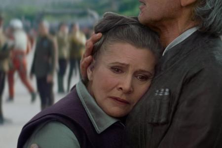 Carrie Fisher: 'I have a new hairstyle but it reminds me of a baboon ass'