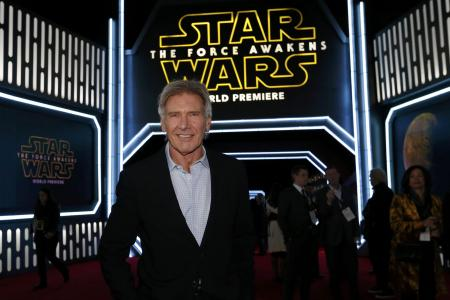 Not hard to say yes to new Star Wars movie, says Harrison Ford