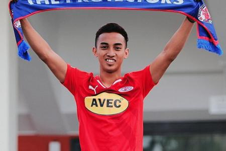 Why I signed for Home United: Faris