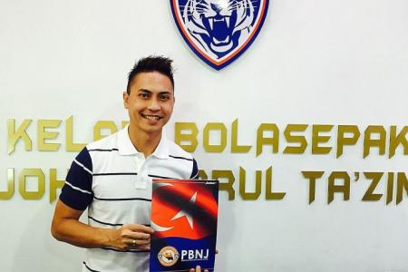 Shahril signs on with JDTII for one more year