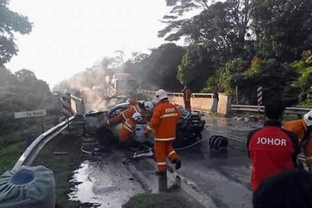 Boy survives Christmas Day car crash that killed mum, dad and sibling