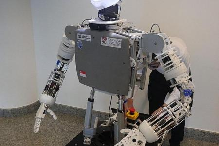 NTU unveils Nadine, one of two robots with artificial intelligence software