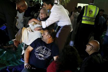 Man in Dubai hotel blaze feared he might not see 2016