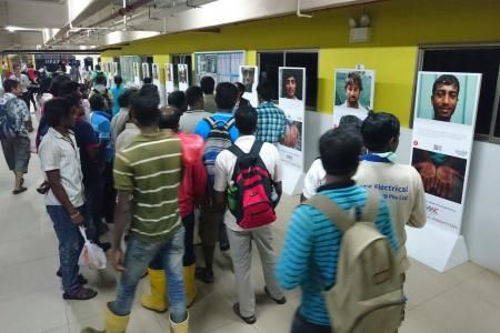 Photo project acknowledges migrant workers' contributions to Singapore