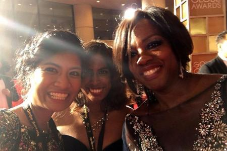 TNP reporters debunk Hollywood myths at Golden Globes