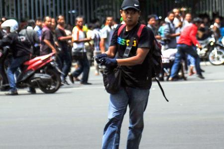 Jakarta gunman a former terror convict