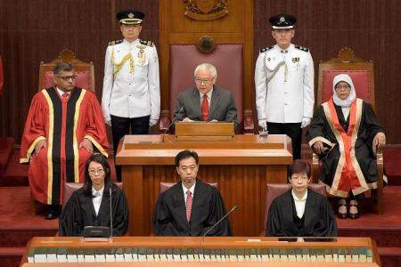 Five things from President Tan's opening address to 13th Parliament
