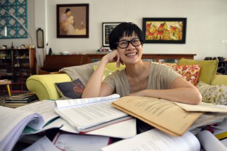 Local actress Karen Tan on her dengue fever ordeal