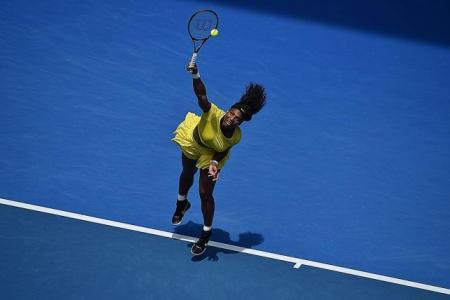 Serena laid back after ousting Sharapova in q-final