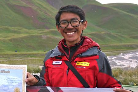 Undergrad aims to be youngest Singaporean to summit Everest via dangerous route