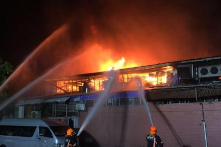 Massive blaze at Toa Payoh factories