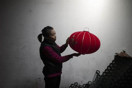 The home of China's red lanterns