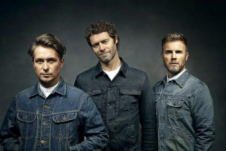Take That returns to S'pore after 20 years