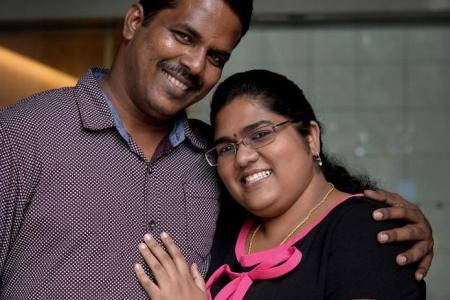 Online love: She meets husband only three months before their wedding day