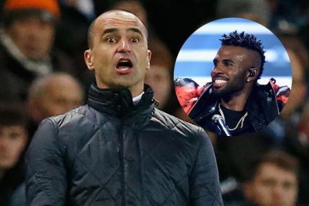 Everton manager shows off his moves at Jason Derulo gig