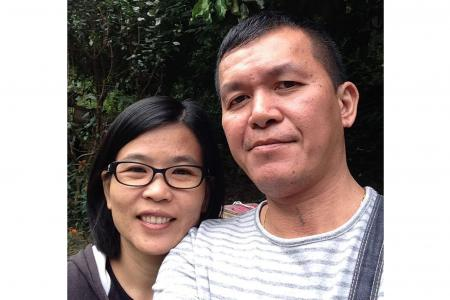 Former drug addict rekindles romance with ex-wife