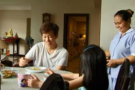 Celebs' eye-opening visits to maids' homes