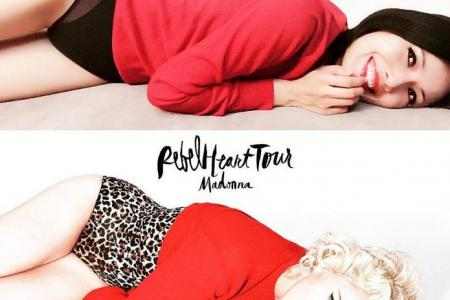 Local celebs heart Madonna