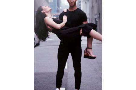 Irfan Fandi turns into rare romantic for silat champ girlfriend