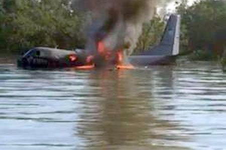 Villager drowns in attempt to rescue passengers on crashed plane