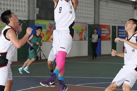 Basketballer Shukri stars for Dunman Secondary