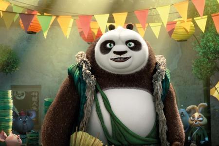 Bryan Cranston becomes a talking panda in Kung Fu Panda 3