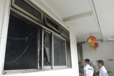 Woman trapped in burning Woodlands flat in moneylending harassment case