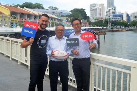 Clarke Quay is official after party partner for HSBC Rugby Sevens