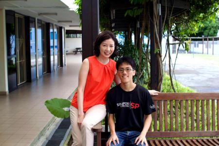 Youth overcomes parents' deaths to become model poly student