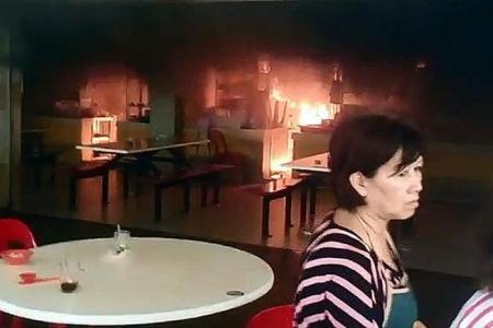 Blaze at Bukit Panjang coffee shop