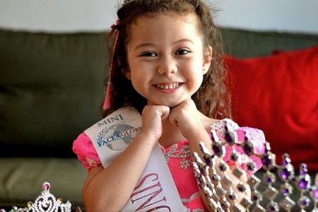 Girl, 6, heading to Paris for international beauty pageant