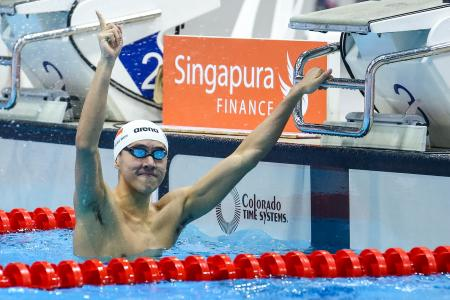 Singapore swim star Quah Zheng Wen looks even more promising after weights programme