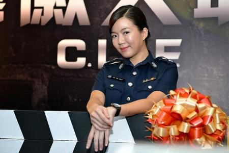 Rui En says no to babies - on the small screen