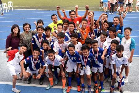 Tanjong Katong secure zonal title with captain's treble