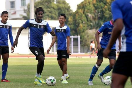 Steinebrunner's Warriors to face his old club Geylang