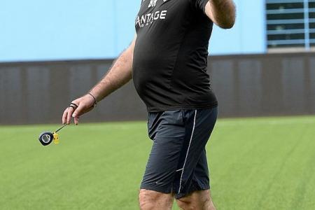 Hodak wants to coach Singapore