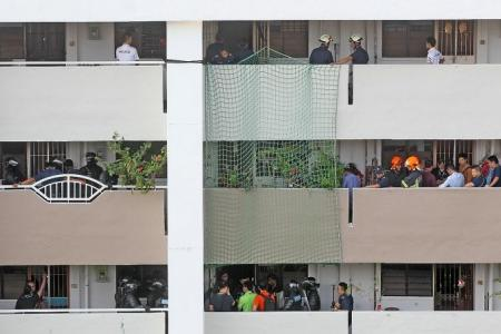 AMK residents evacuated 14 hours over police stand-off