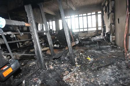 Cabby gets 10 years for killing his lawyer's wife in fire