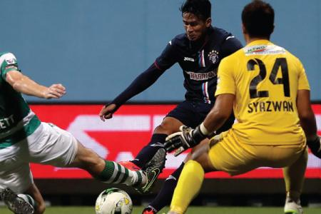 Sub Ridhuan rescues draw for Warriors
