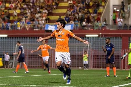 Albirex return to top of S.League