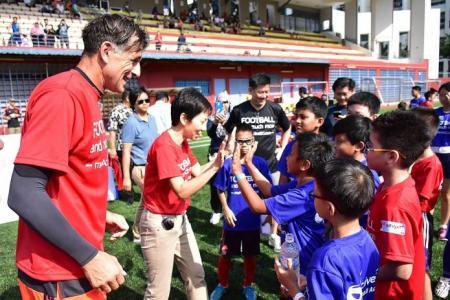 ActiveSG Football Academy aims to teach more than football skills