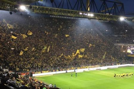 Dortmund's Yellow army behind their comeback win