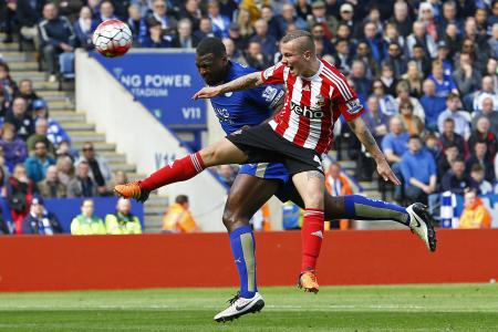 Morgan takes Leicester closer to EPL title