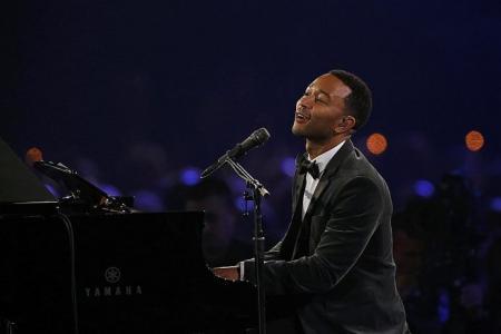 US musician John Legend back with new album, TV show