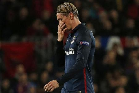 Blame Torres for Atletico's loss to Barca