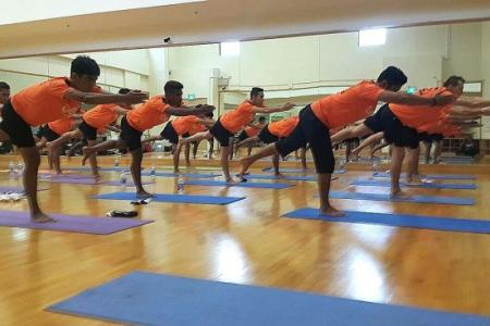 Hougang turn to yoga for results